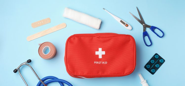 Why should there be a first aid kit
